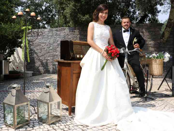 O casamento de Goretti e Frederico