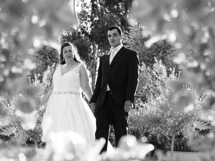 O casamento de Joaquina e Bruno
