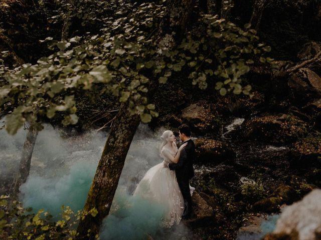 O casamento de Sara e Vincent