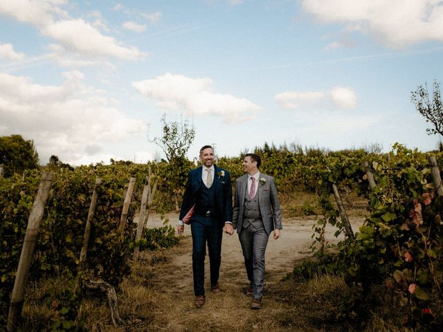 O casamento de Daniel e Gareth
