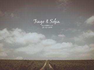 O casamento de Sofia e Tiago 1