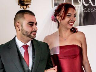 O casamento de Gwenaelle e Pedro