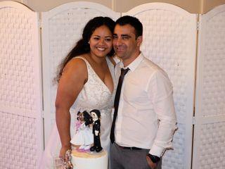 O casamento de Carla e Américo
