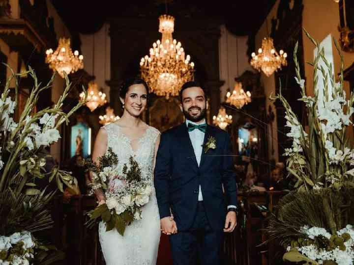 O casamento de Jóni e Ana