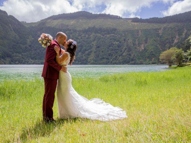 O casamento de Alex e Ana em Sete Cidades, São Miguel 1