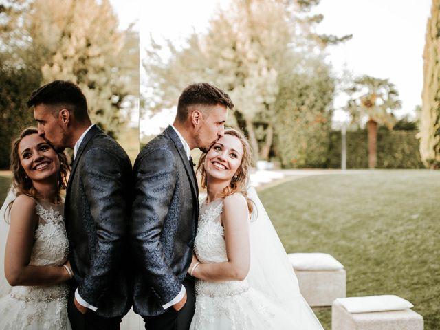 O casamento de Sandra e Davide