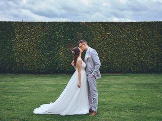 O casamento de Anna e Maksym