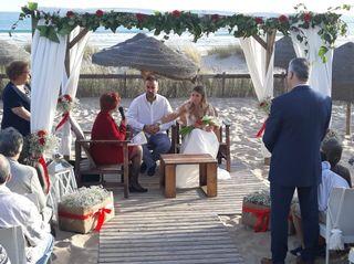 O casamento de Filipe e Sandra