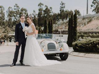O casamento de Sandra e Pedro