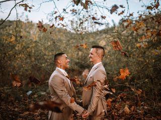 O casamento de Junior e Rui