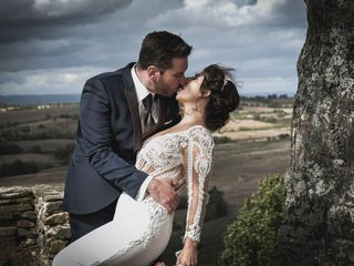 O casamento de Emiliana e André