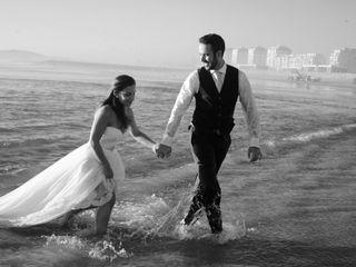 O casamento de Berta e André