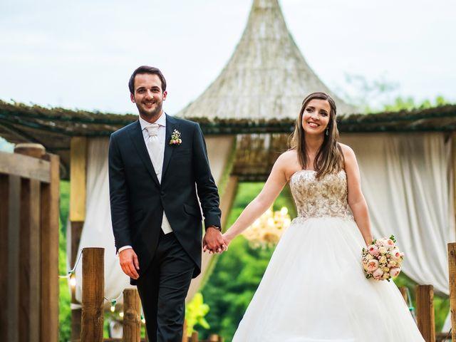 O casamento de Stephanie e Cláudio