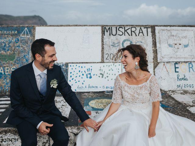 O casamento de Luís e Susana em Horta, Faial 52