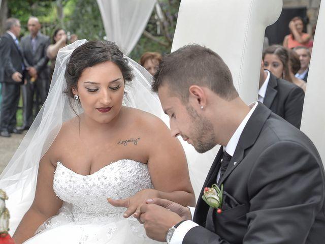 O casamento de Fábio e Fabiene em Guidões, Trofa 21