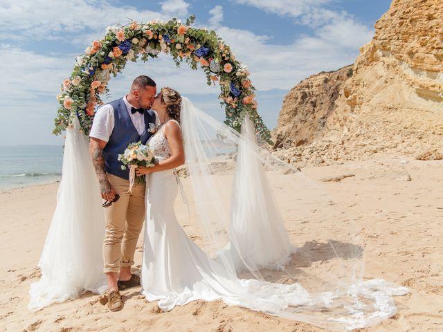 O casamento de Lauren e Stuart