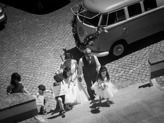 O casamento de Luís e Beatriz em Fajões, Oliveira de Azeméis 11