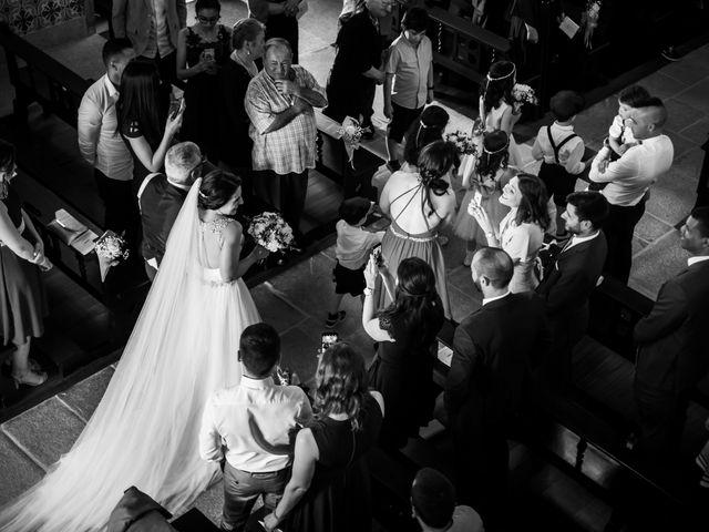 O casamento de Luís e Beatriz em Fajões, Oliveira de Azeméis 12