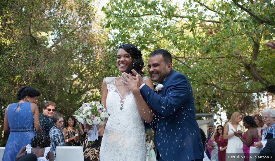 O casamento de Carlos e Djalma em Loures, Loures