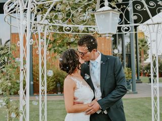O casamento de Joana e Fernando