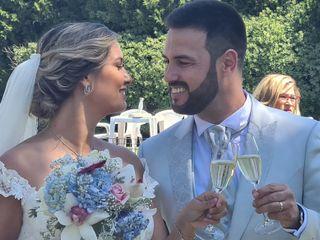 O casamento de Elio e Raquel