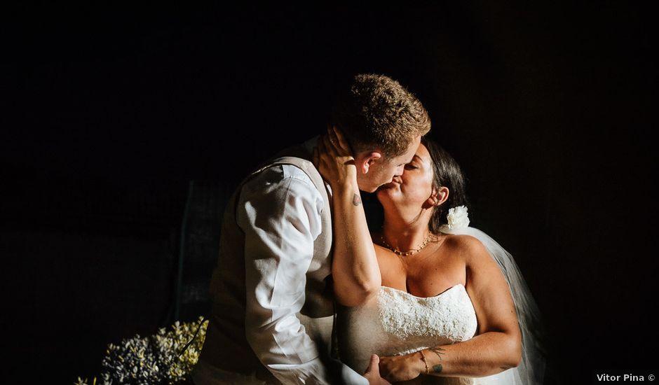 O casamento de Craig e Kerry em Burgau, Vila do Bispo