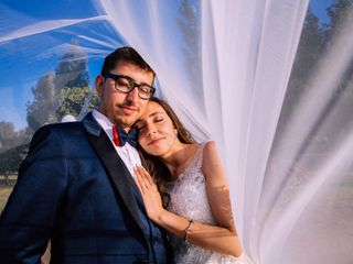 O casamento de Vera e Joel