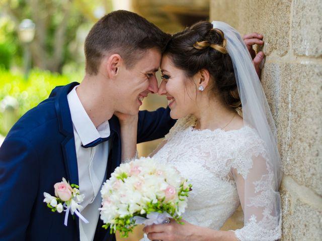 O casamento de Olena e Yevhen