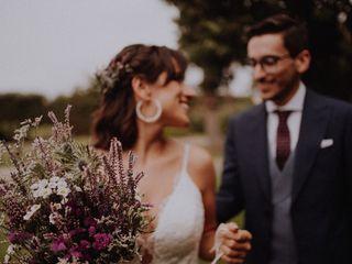 O casamento de Anita e Pedro