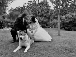 O casamento de Fabíola e Miguel