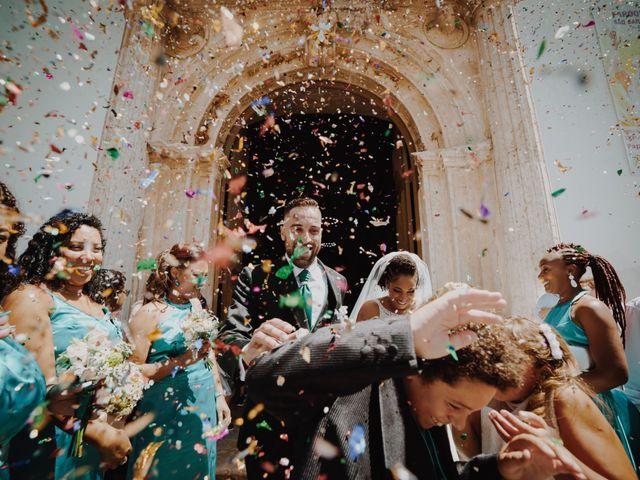 O casamento de Deolinda e Miguel