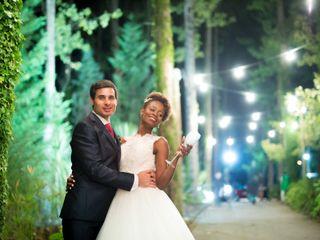 O casamento de Lassalett e Diogo