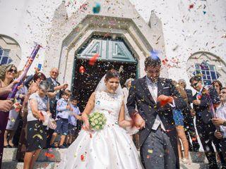 O casamento de Joana e Fred