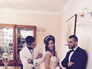 O casamento de Sandy  e Fabien 1