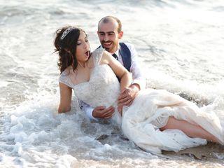 O casamento de Sandy  e Fabien