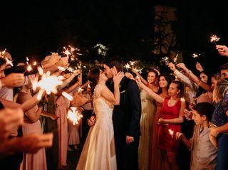 O casamento de Diva e Alexandre