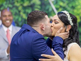 O casamento de Luciany e André