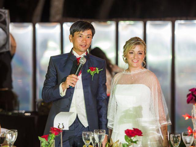O casamento de Clotilde e Siv Line