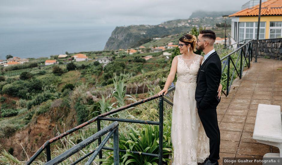 O casamento de Emanuel e Adriana em Santana, Madeira