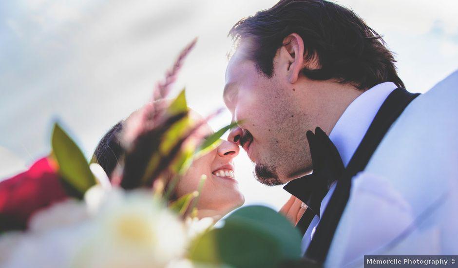 O casamento de Joseph e Emma em Carvoeiro, Lagoa