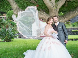 O casamento de Lucy e Luis