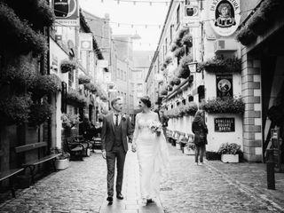 O casamento de Camila e Kieran