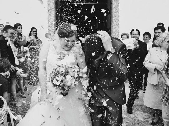O casamento de André e Alexandra em Santa Eulália de Arnoso, Vila Nova de Famalicão 1
