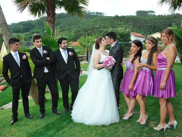 O casamento de André e Alexandra em Santa Eulália de Arnoso, Vila Nova de Famalicão 2