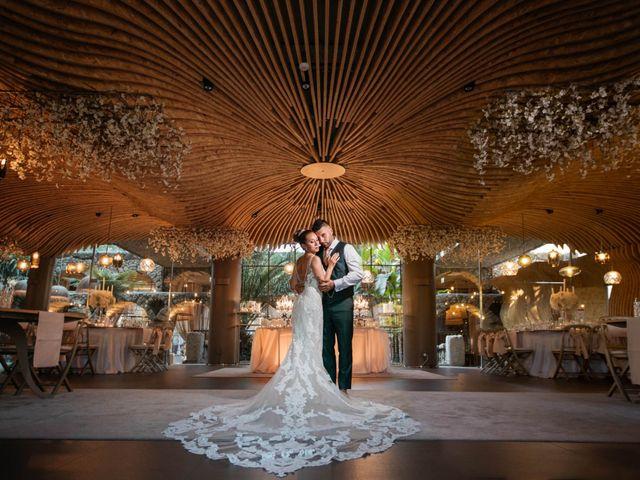 O casamento de Melanie e Fábio