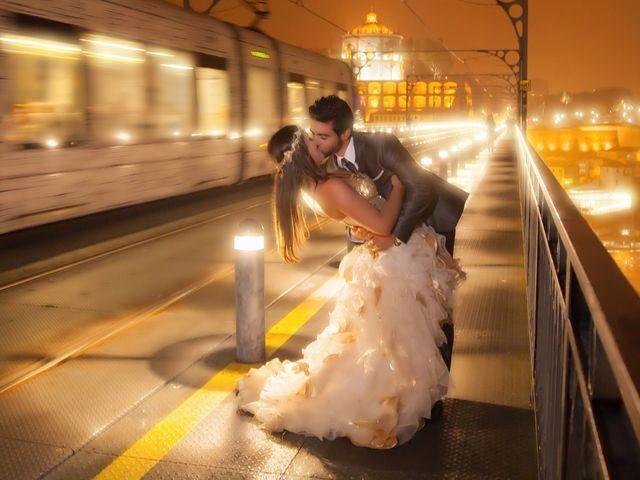 O casamento de Carina e Américo