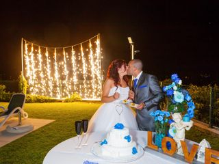 O casamento de Silvia e Pedro