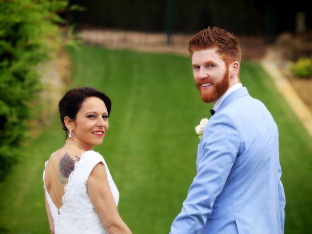 O casamento de Cynthia e Diarmuid