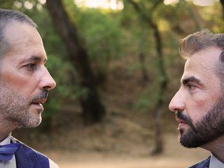 O casamento de Élio e Nuno