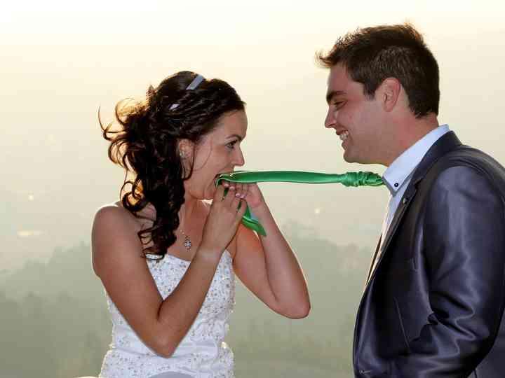 O casamento de Sónia e Cristiano
